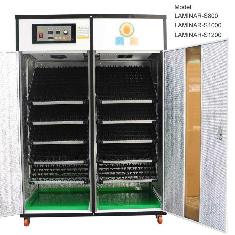 Máy ấp trứng 1200 trứng LAMINAR-S1200
